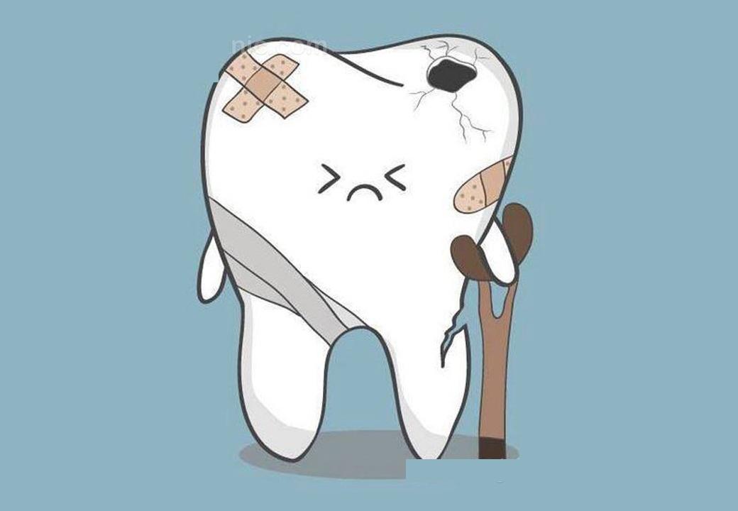 تشخیص شکستگی دندان