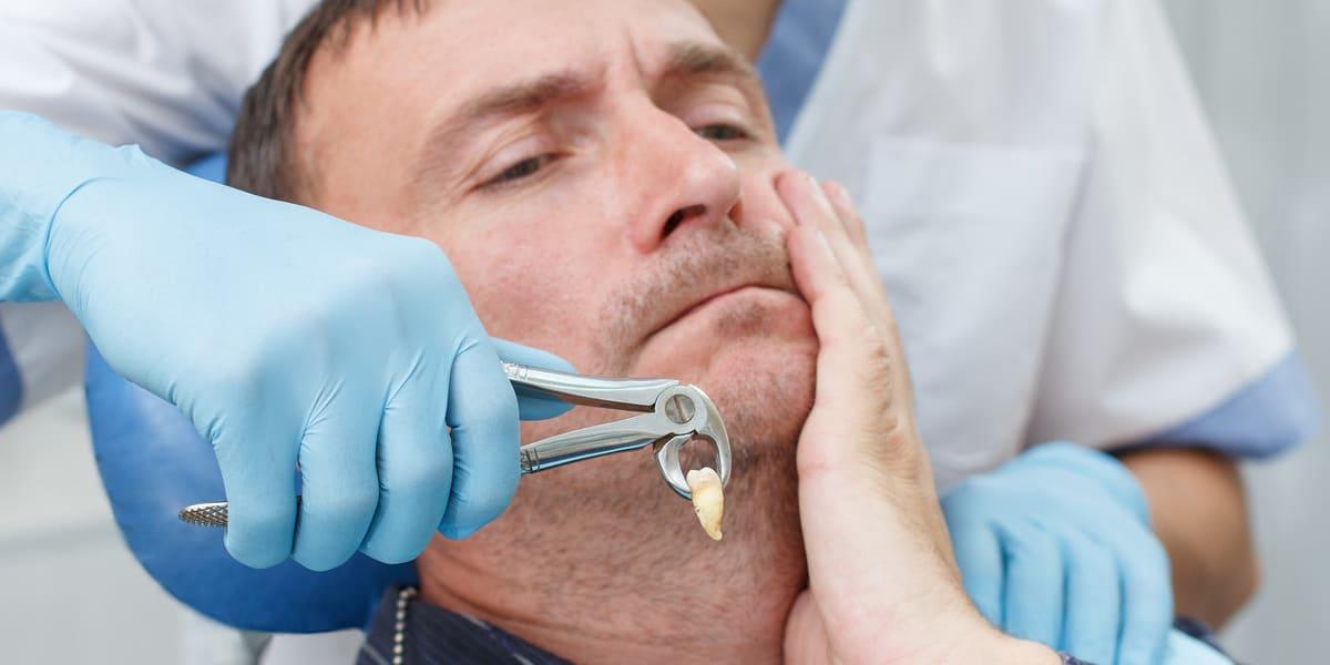 جراحی دندان در بیهوشی